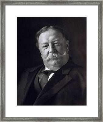 President William Howard Taft Framed Print by International  Images