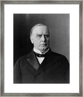 President William Mckinley Framed Print by International  Images