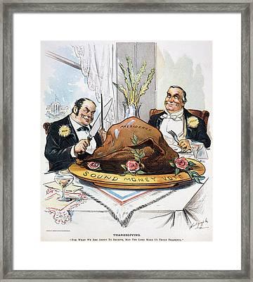 Presidential Election, 1896 Framed Print by Granger