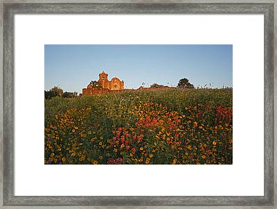 Framed Print featuring the photograph Presidio La Bahia 3 by Susan Rovira