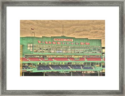 Press Box 2 Framed Print by Jonathan Harper
