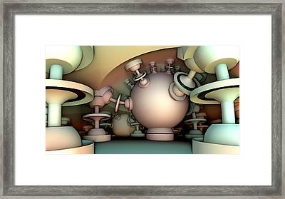 Pressure Cooker Framed Print