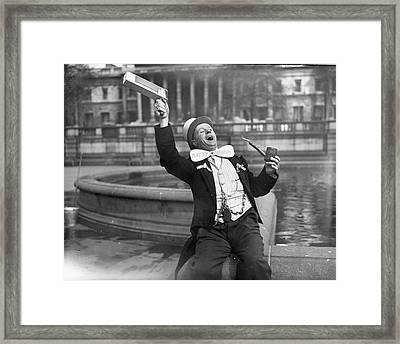 Preston Supporter Framed Print by Harrison