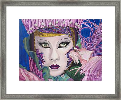 Pretty In Pink Framed Print by Patty Vicknair