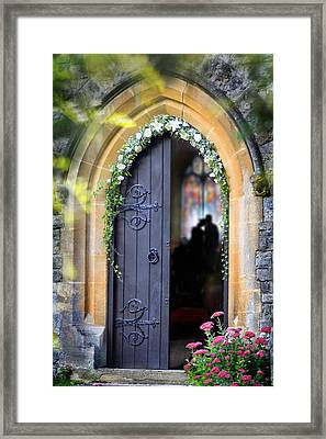 Pretty Portal  Framed Print