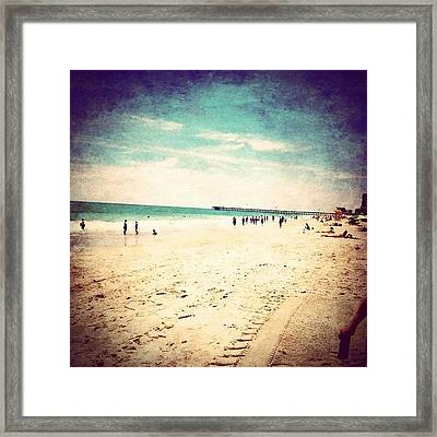 #pretty #prettycolors #summer Framed Print by Katie Williams