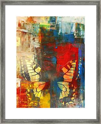Preview Destination Framed Print by Fania Simon