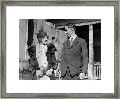 Price Girls Story Upheld By Hobo Poet Framed Print by Everett