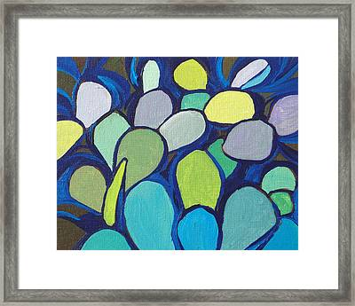 Prickly Pear 2 Framed Print by Sandy Tracey