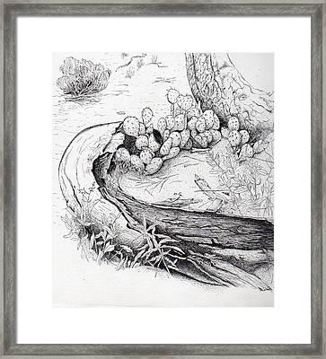 Prickly Pear Framed Print