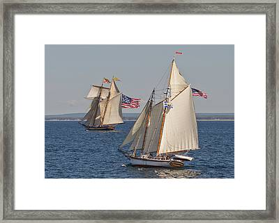 Pride In Marquette Framed Print