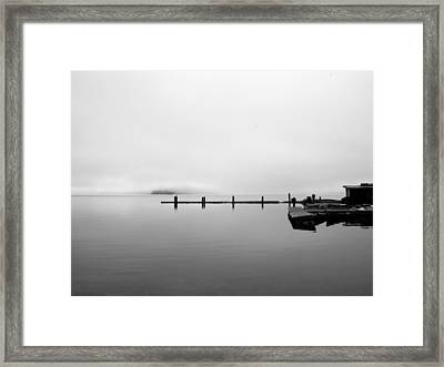 Priest Lake Morning Framed Print