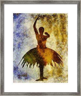 Prima 1 Framed Print by Angelina Vick
