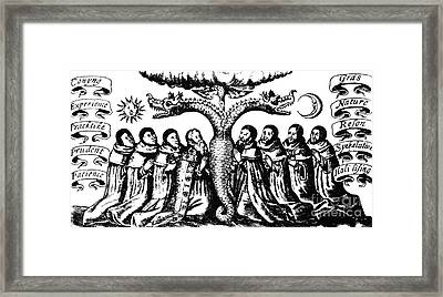 Prima Materia Fertilized By The Avis Framed Print by Science Source
