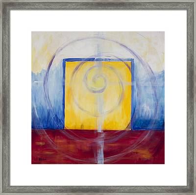 Primary Abstract Framed Print