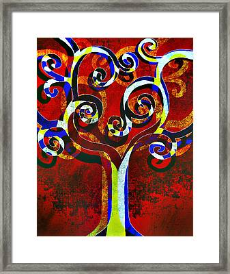 Primary Framed Print by Angelina Vick
