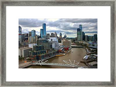 Primary Colors Of Melbourne Framed Print