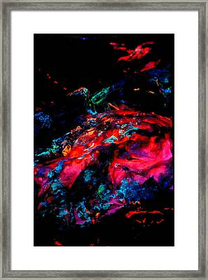Primordial Event Framed Print by Colleen Cannon