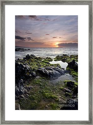 Primordial Hawaii Framed Print