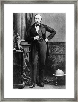 Prince Albert 1819-1861, Husband Framed Print