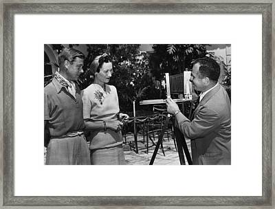 Prince Edward, Duke Of Windsor Framed Print