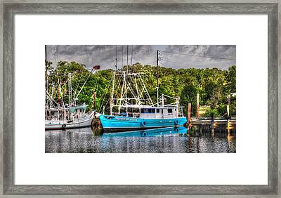 Prince Of Peace Side View Framed Print by Michael Thomas