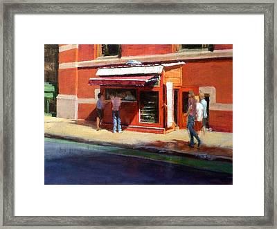 Prince Street Coffee Framed Print