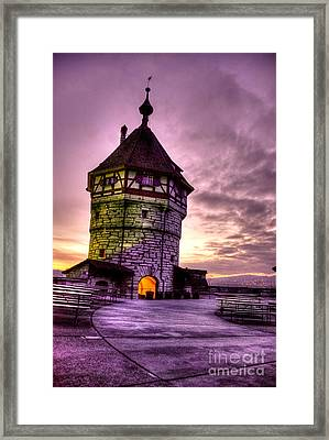 Princes Tower Framed Print