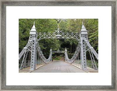 Princess Bridge #2 Framed Print by Donna Bosela