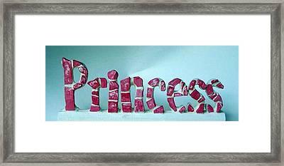 Princess Framed Print by Cynthia Amaral