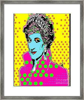 Princess Di Framed Print