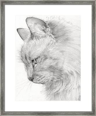 Princess Fleur Framed Print by Monique Geurts