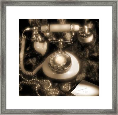 Princess Phone Framed Print by Mike McGlothlen