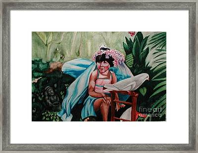 Princess Quinn Framed Print