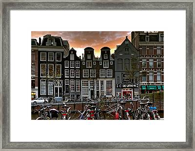 Prinsengracht 458. Amsterdam Framed Print
