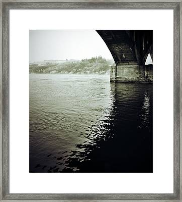 Prison Stream Framed Print by The Artist Project