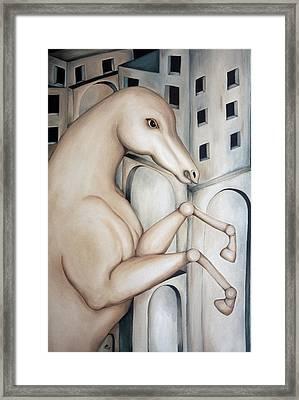 Prisoner 2010  Framed Print by Simona  Mereu