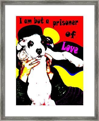 Prisoner Of Love Framed Print by Jann Paxton