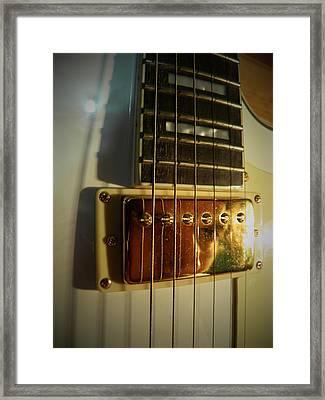 Prisoner Of Rock 'n' Roll Framed Print by Alexandre Lafreniere