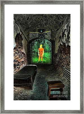 Prisoner Of The Soul Framed Print