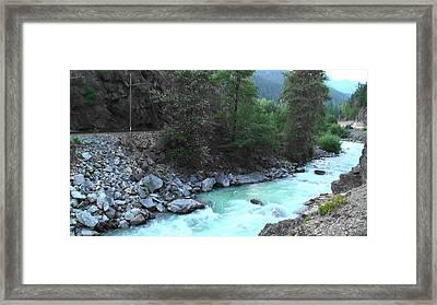 Pristine River Framed Print by Aamir Khayam