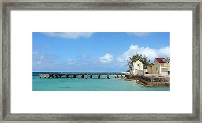 Private Dock Framed Print