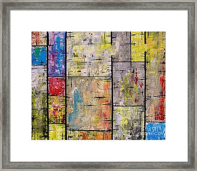 Private Lives Framed Print by Jose Miguel Barrionuevo