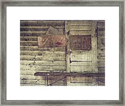 Private Property Framed Print by Kathy Jennings