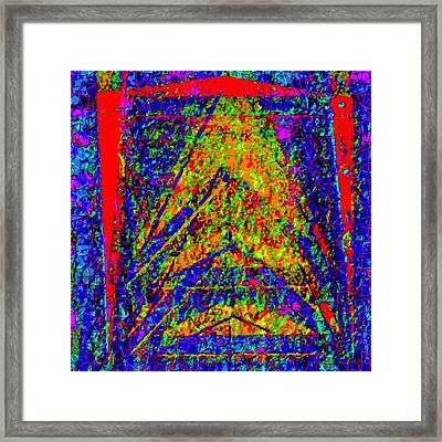 Private Space Launch Framed Print by Rod Saavedra-Ferrere