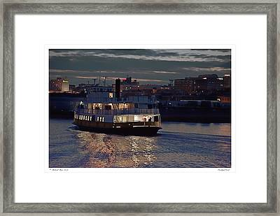 Privileged Vessel Framed Print by Richard Bean