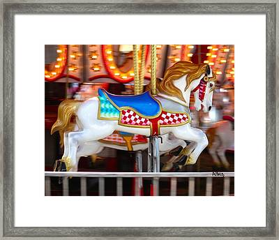 Framed Print featuring the photograph Prized Stallion by Patrick Witz