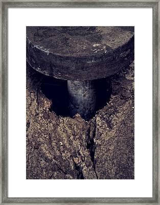 Probe Framed Print by Odd Jeppesen