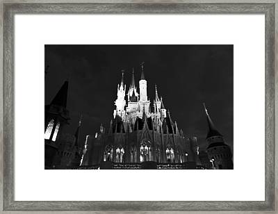 Product Of A Lottery Winning Bw Framed Print by Nicholas Evans