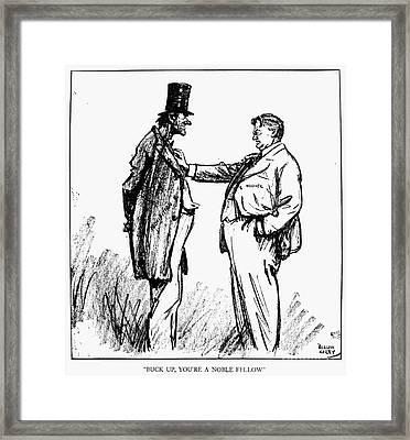 Prohibition Cartoon, 1928 Framed Print